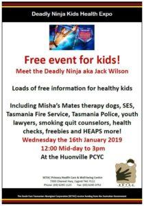 Kids Health Expo Flyer