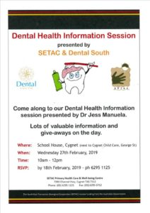20190118 Dental South Notice