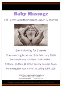 20190218 Baby Massage Flyer