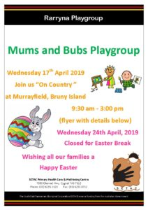 20190417 SETAC Playgroup - On Country Flyer