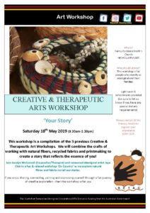 20190518 Your Story Art Workshop Flyer