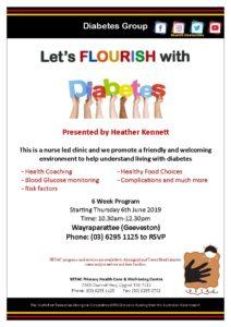 20190606 Let's Flourish with Diabetes Flyer