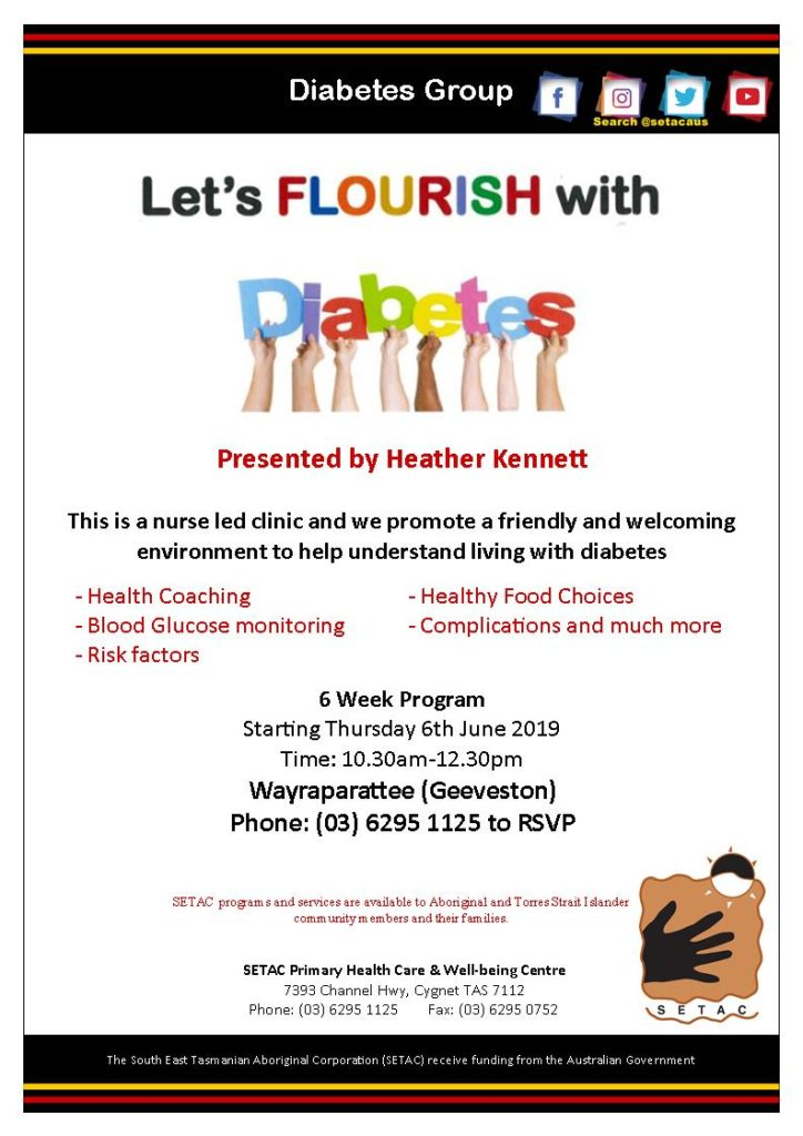 20190606 Let's Flourish with Diabetes Flyer