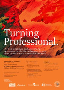 Arts Workshop Flyer
