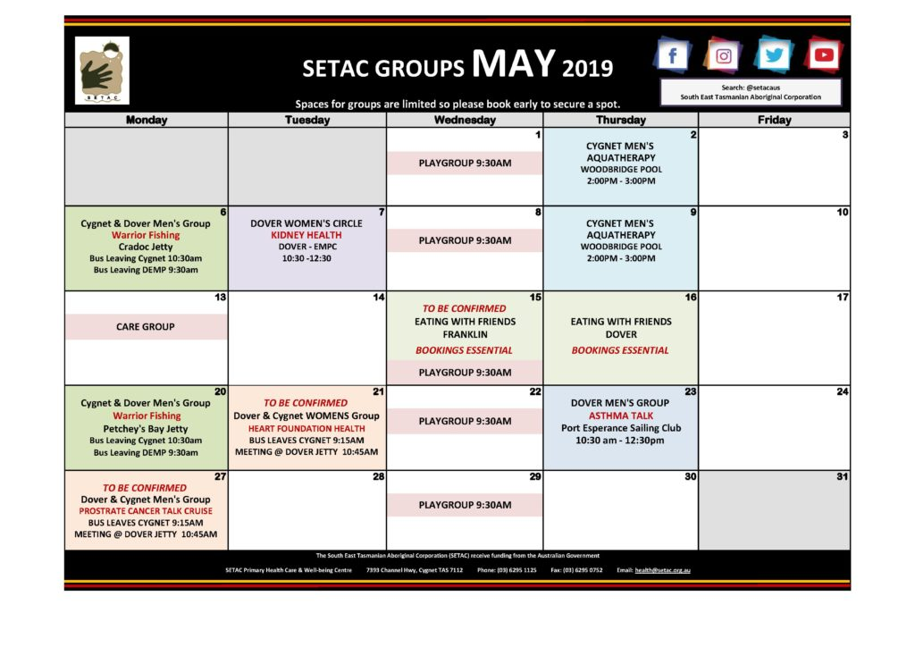 Calendar 2019- May 2019 Calendar-1