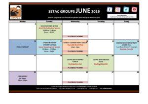 Calendar 201906 - Flyer Version June 2019 p1 Groups