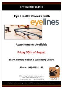 20190830 Optometrist Flyer for Eye Health Checks