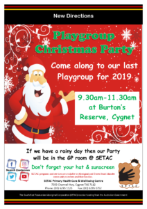 20191218 Playgroup Christmas Party 2019