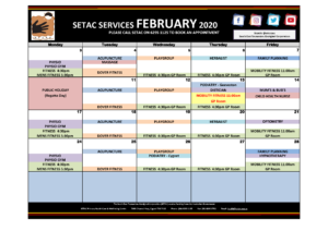 Download 2020 02 February Events Calendar p1 Services