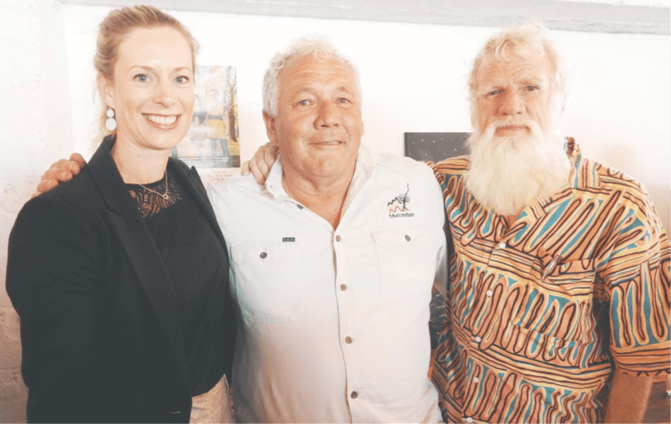 Picture 20200122 Indigenous truth-telling festival a big hit by Huon News p1
