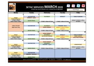 Download 2020 03 March Events Calendar p1 Services